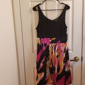 Jessica Howard Pink Floral Dress Size 10 NWT
